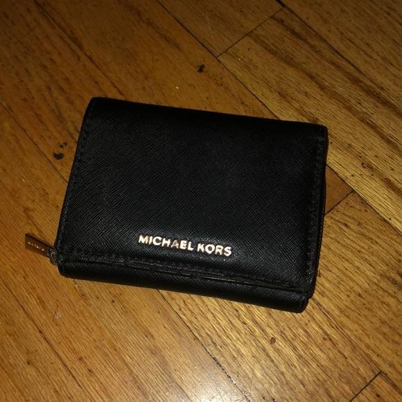 Michael Kors wallet, black leather